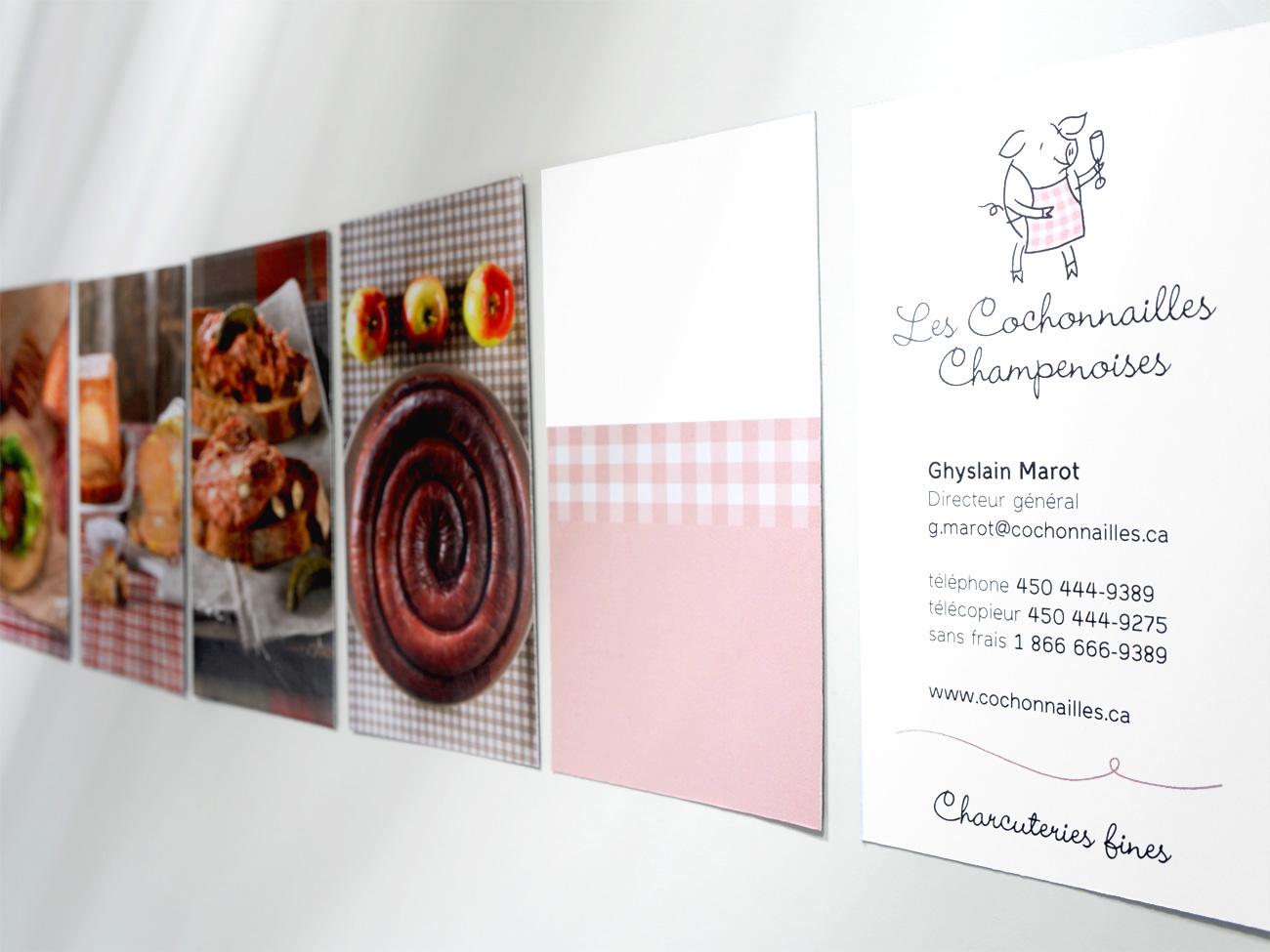 Les cochonnailles champenoises signature visuelle de l for Chambre de commerce francaise a montreal